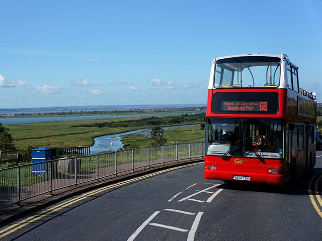 Go Ahead London PVL224 on route 68 at Leigh Belton Way East.jpg