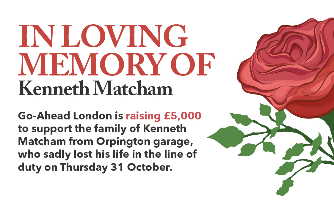 In Loving Memory of Kenneth Matcham